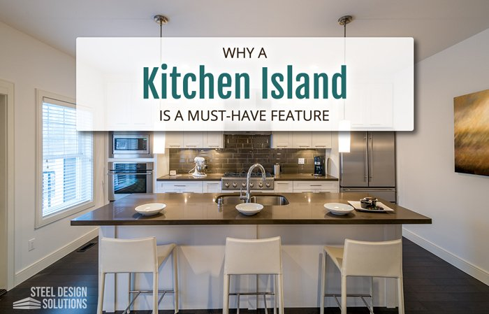Why a Kitchen Island is a Must-Have Feature