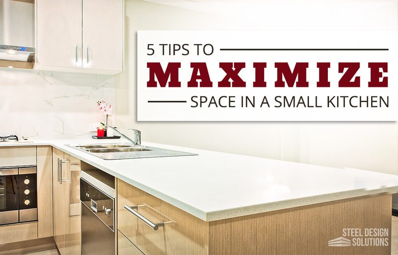 5 Tips to Maximize Space in a Small Kitchen