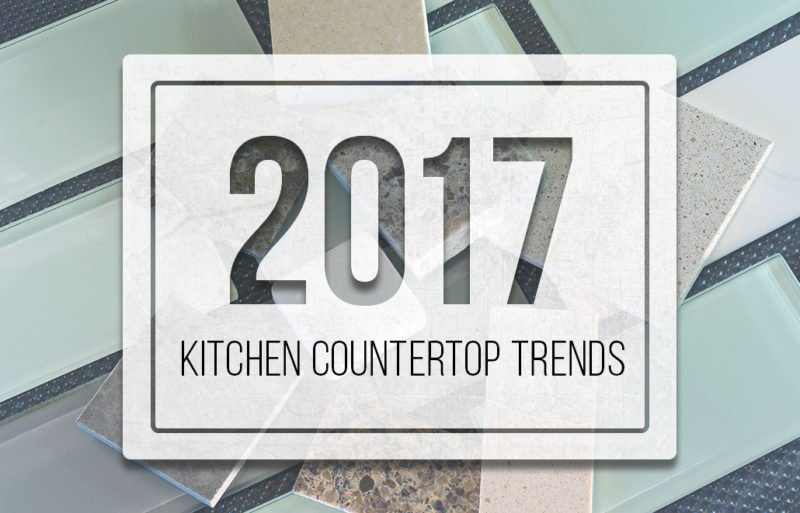 2017 Kitchen Countertop Trends