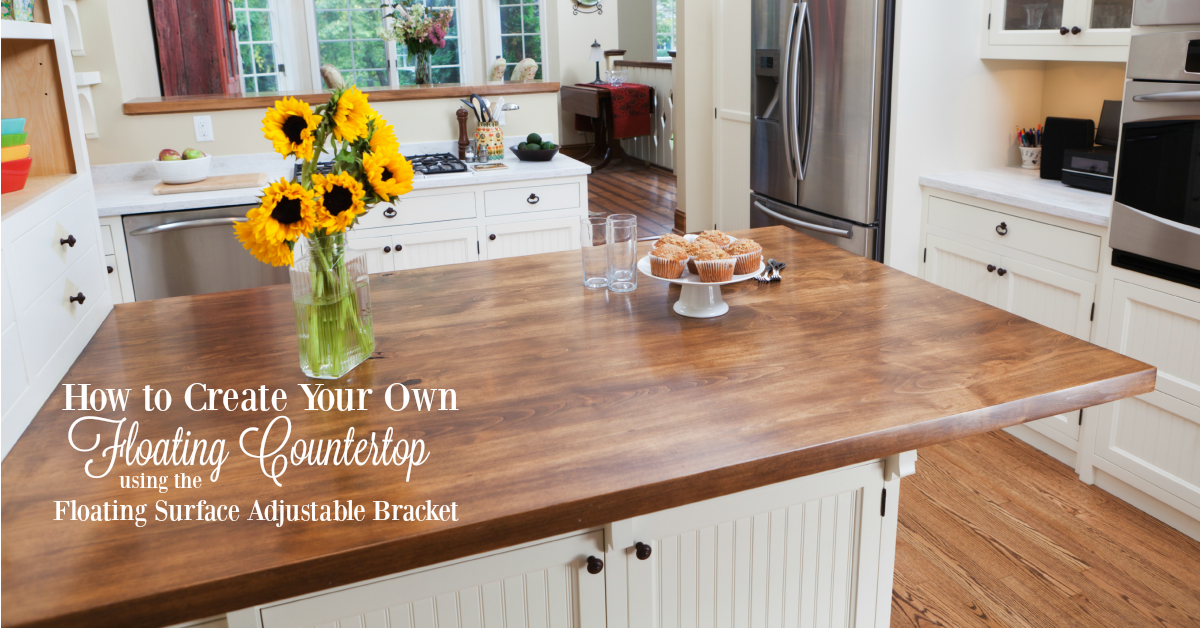 How To Create A Diy Floating Countertop Using The Floating