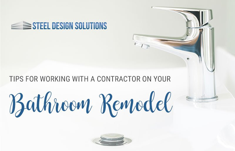 Working with a Contractor on Your Bathroom Remodel
