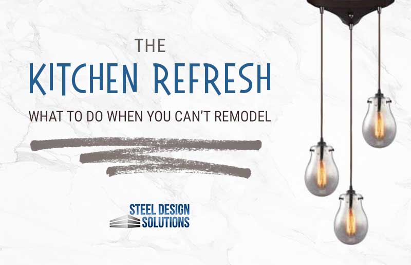 The Kitchen Refresh: What To Do When You Can't Do a Full Remodel Project