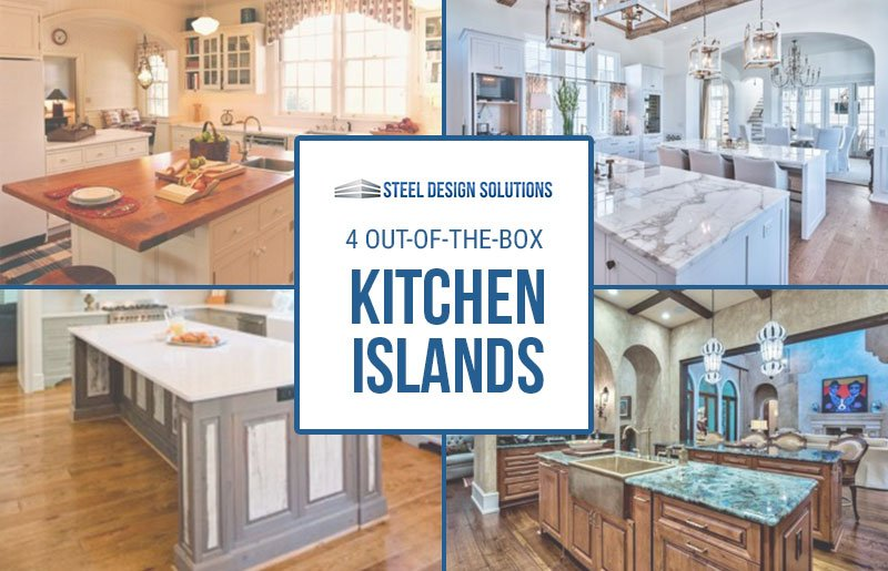 4 Out-Of-The-Box Kitchen Islands