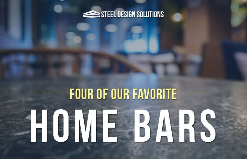Four of Our Favorite Home Bars