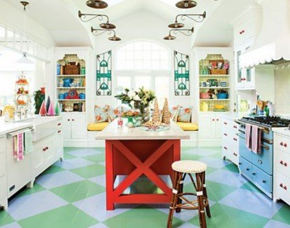 eclectic kitchen style