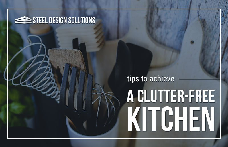 Tips to Achieve a Clutter-Free Kitchen