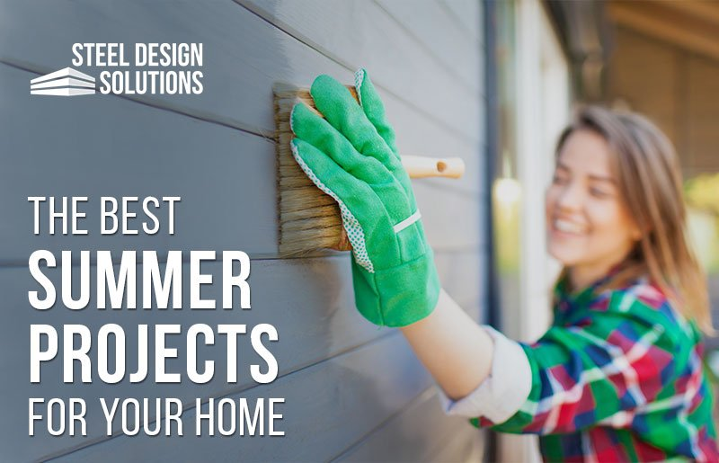 The Best Summer Projects for Your Home