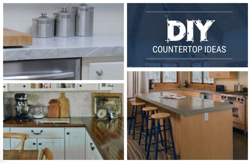 DIY countertop ideas to refresh your kitchen